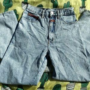 Vintage 90's FANTY Acid Wash Mom Jeans